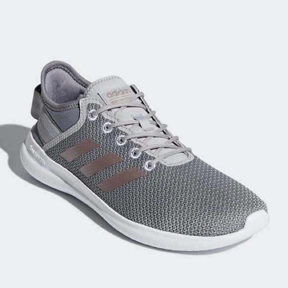 94f9369f9163 Adidas cloudfoam grey and rose gold sneakers